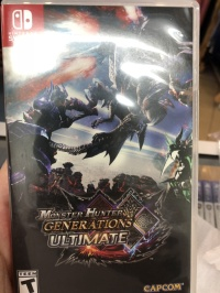 Used Nintendo Switch Game - Monster Hunter Generations Ultimate