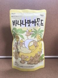 Banana Almond 210gram ~ Produsen Honey Butter Almond Tom's Korea