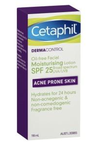 Cetaphil acne prone skin moisturising lotion spf 25 118ml
