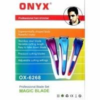 Mesin Alat Cukur Rambut Onyx OX-6268 - shaver