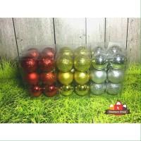 Hiasan Bola Natal - Dekorasi Natal Premium