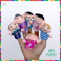 Boneka Jari Keluarga/ Finger Puppet Family