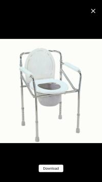 Kursi BAB / Commode Chair merk Sella KY 894 tanpa roda