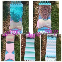 Smiggle Sale Mermaid Tail Note Book Diary