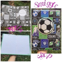 Smiggle Sale Color Blast A5 Lockable Note Book Ball
