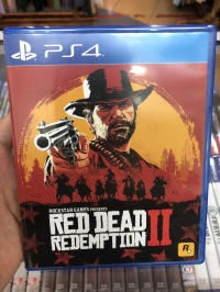 USED PS4 Game - Red Dead Redemption 2 II