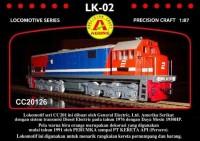 Miniatur Lokomotif Kereta Api Indonesia Lk-02 Lk 02 / Diecast CC2