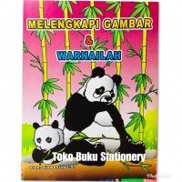 Buku Anak, Belajar Aktivitas MELENGKAPI GAMBAR & MEWARNAI