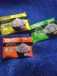 kongbap / beras korea