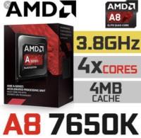 AMD A8-7650K Kaveri Quad Core 3,3Ghz FM2+