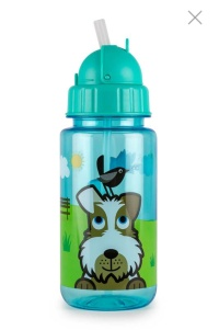 Sweetmomshop Tumtum Flip Top Kids Water Bottle