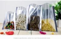 Plastik zipper plastik press plastik snack plastik kuaci 8x12