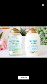 Organix Coconut Water Shampoo 385ml