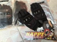 Glove Sarung tangan type Gujia Dainese Black Original Italy size L XL