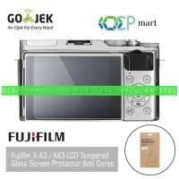 Tempered Glass Fujifilm X-A3 anti gores screen protector Fuji XA3