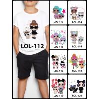 Kaos / Baju Anak LOL Surprise Banyak Motif (Free custom nama) part 2