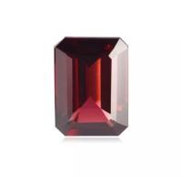 Natural Batu Mulia red Garnet Almandine Pyrope Rodholite emerald cut o