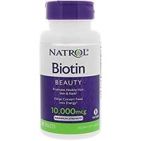 Natrol Biotin Maximum Strength 10000 mcg 100 Tablets