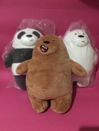 Boneka Miniso We Bare Bears Standing 28,5 cm