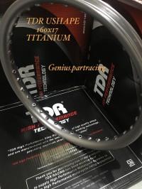 VELG TDR USHAPE TITANIUM 160 RING 17