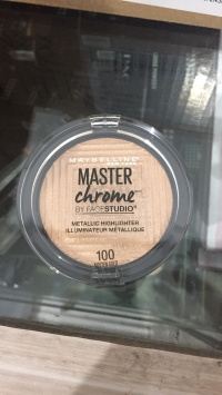 Maybelline Master Chrome by FaceStudio - 100 Molten Gold 6.7g