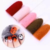 bubuk bludru velvet powder nail art set isi 12 warna