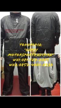 Jas hujan Baju celana GIVI ori Italy RRS06 M L XL 2XL 3XL black black