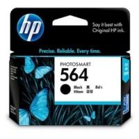 Tinta HP 564 Original Ink Catridge Tinta Printer Black foto ORIGINAL