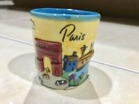Ori souvenir gelas pajangan dari Paris ( kota Paris di perancis)