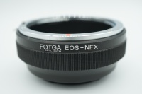 Fotga Lens Adapter , Lensa Canon EF ke body Sony Emount ( EOS - NEX )