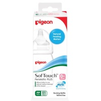 PIGEON Botol Susu Bayi PP WIDE NECK 160 ml Peristaltic Plus Nipple