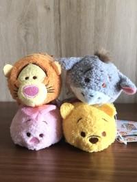 Boneka Tsum Tsum POOH & Friends- asli Japan