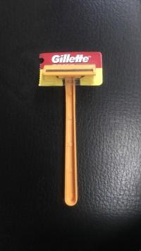 Gillette Goal II Kuning - Cukuran Jenggot Murah Grosir Lembar