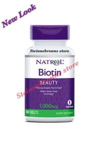Natrol Biotin 1000 mcg - 100 Tablets