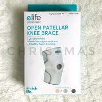 Pelindung Lutut Knee Support Open Pattelar Elife Orthopedic
