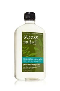 Aromatherapy Body & Shine Shampoo Bath and Body Works BBW