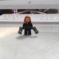 Lego Minifigure Black Widow