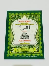 Buku IQRO Lengkap JuzAmma serta Terjemahan ukuran Besar