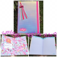 Smiggle Sale A5 Lux Birthday Note Book Diary Silver