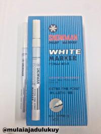 Spidol white marker EFWP Snowman / Extra Fine Point / Putih
