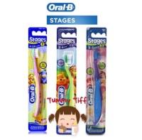 Sikat Gigi Bayi dan Anak Oral B ORIGINAL OralB anak stage 1 (4-24bln)