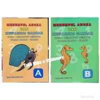 Buku Anak TK, Menempel Angka Dan Mewarnai