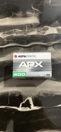 Film analog Agfa APX 400