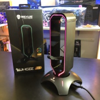 Rexus J3 Bungee & Headset stand RGB