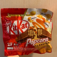 [PACK] Kitkat limited edition popcorn flavoured 2Fx5