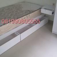 Ranjang Laci Anak - Dipan Anak - Tempat Tidur Laci 90x200 - 3 laci