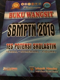 JUAL Buku Wangsit SBMPTN 2019 Tes Potensi Skolastik