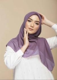 Jilbab Segiempat Elzatta Hijab AP Keisha Sadia