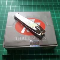 Gunting kuku 777-608 sedang silver original nail clipper 608 silver