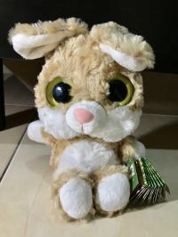 Ori souvenir soft toy cute rabbit dari Eropa (perancis)